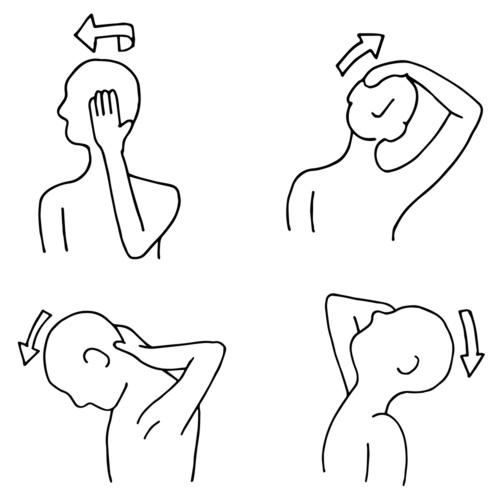 La debolezza di dolori di vita dolorante un mal di testa e una temperatura